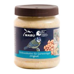 Erdnussbutter für Vögel, Original 330g-Glas