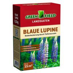 Bodenkur Blaue Lupine Samen, 0,5 kg