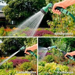 Garten-Sprühset mit 3 verschiedenen Sprühern