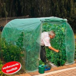 Tomatengewächshaus Spezial, mit Gitterfolie, 300x200x175 cm