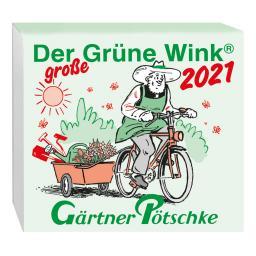 MAXI-Abreißkalender Der große Grüne Wink®