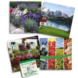 Gärtner Pötschkes Kalender-Rückwand Der Grüne Wink®, 2-er-Set (4 Motive)