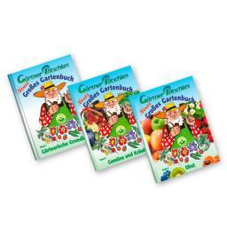 Gärtner Pötschkes Gartenbuch-Sortiment, 3 Bände (1, 2 und 3)