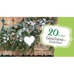 Gärtner Pötschkes Weihnachts-Gutschein 20,- Euro