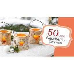 Weihnachts-Gutschein 50,- Euro
