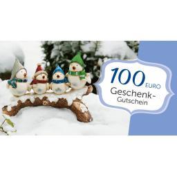 Weihnachts-Gutschein 100,- Euro