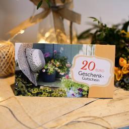 20,- Euro Geschenk-Gutschein