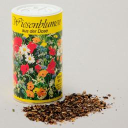 Wiesenblumensamen-Mischung, 100 g Sä-Dose