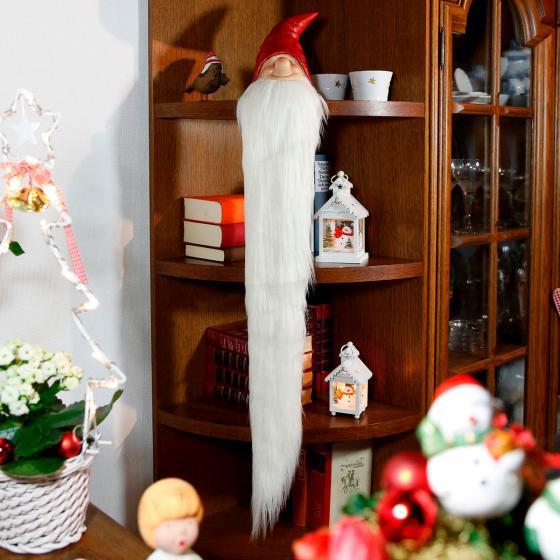 Weihnachts-Wichtel Rauschebart, groß