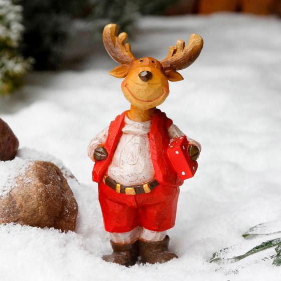Weihnachts-Rentier Rollo