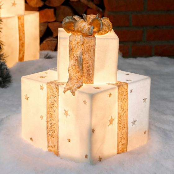 Leucht-Geschenke Winterzauber Duo