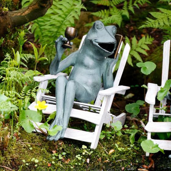 Gartendekoration Frosch Vicky