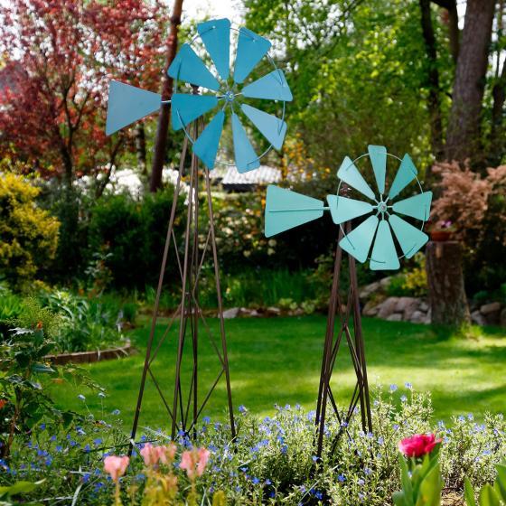 Garten Windmühle klein