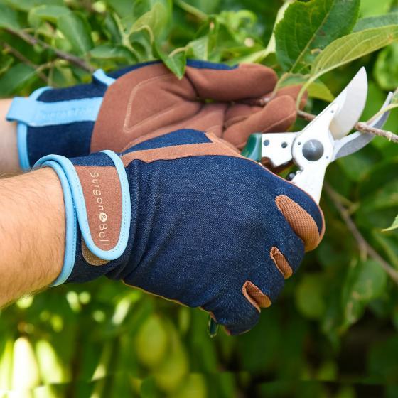 Canvas-Gartenhandschuhe für Herren