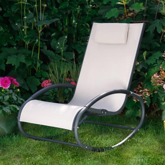 Schaukelstuhl Easy Relax, beige