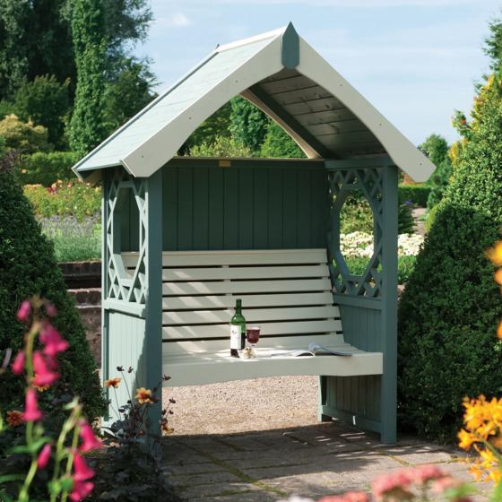 Gartenlaube Arbour