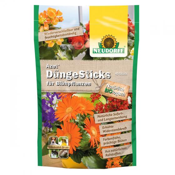 Neudorff Azet DüngeSticks für Blühpflanzen, 40 Stück