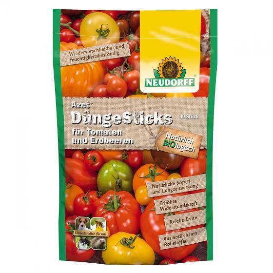 Neudorff Azet DüngeSticks für Tomaten und Erdbeeren, 40 Stück