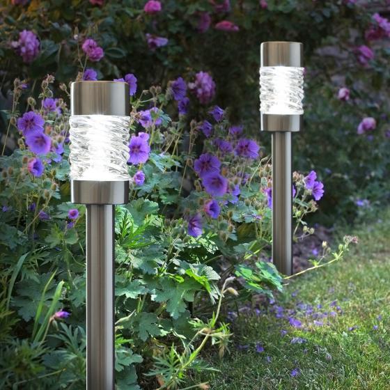 Solar-Beetleuchte Toplight, 4er-Set