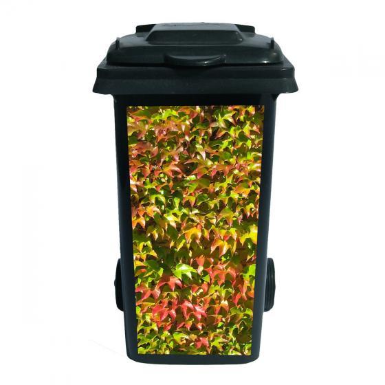 Container-Aufkleber Herbstkleid