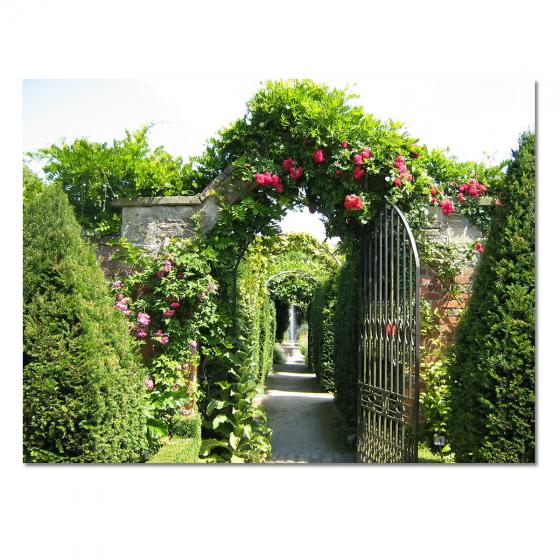 Garten-Gemälde Gartentor