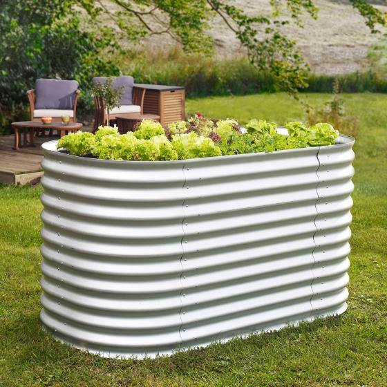 vitavia hochbeet aluminium online kaufen bei g rtner p tschke. Black Bedroom Furniture Sets. Home Design Ideas
