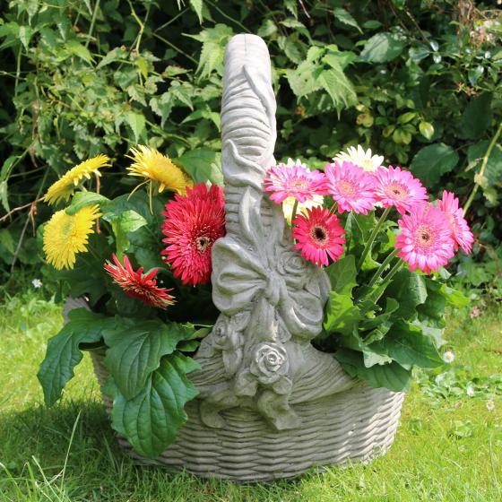 Gartenfigur Pflanzkorb Floris