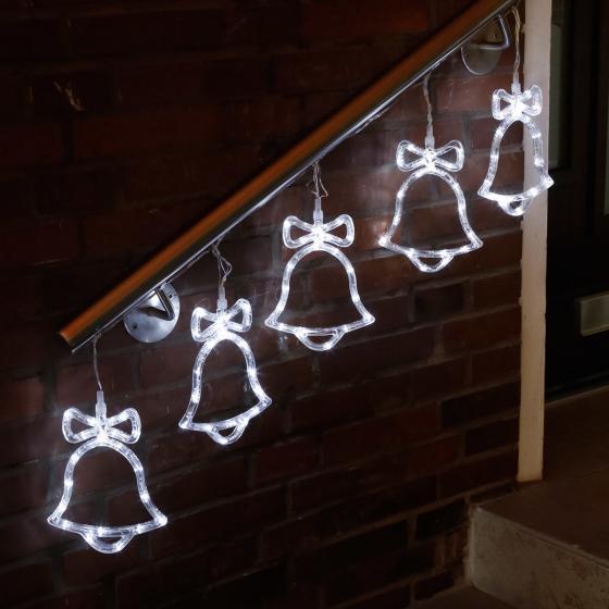 LED-Außenlichterkette Glöckchenspiel