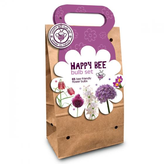 Blumenzwiebel-Sortiment Happy Bee Purpur-Violett