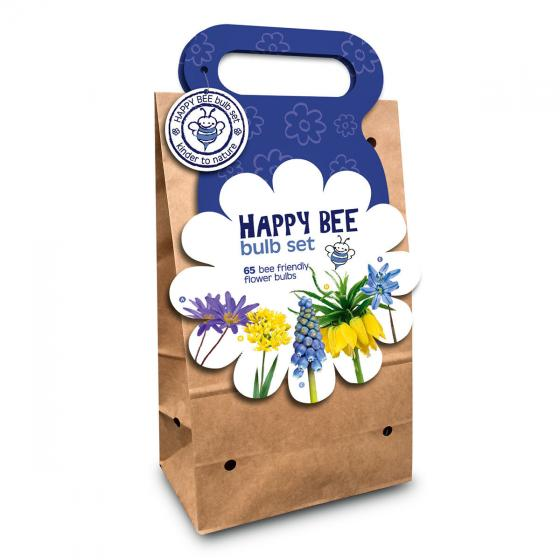 Blumenzwiebel-Sortiment Happy Bee Blau-Gelb