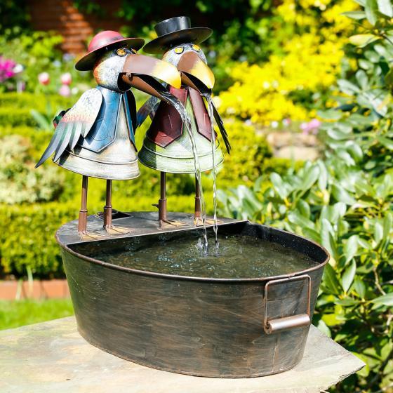 Brunnenspiel Vogelpaar Franz & Fred