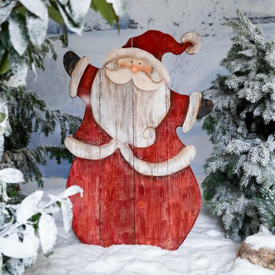 XXL-Landhaus-Weihnachtsmann Woody