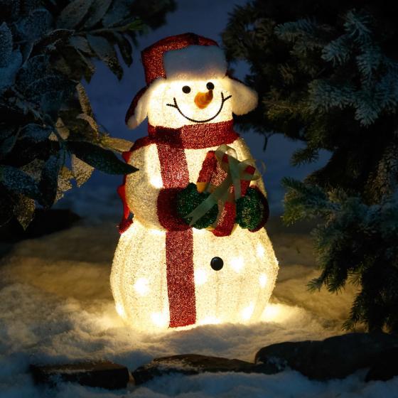 LED-Leucht-Schneemann Joy