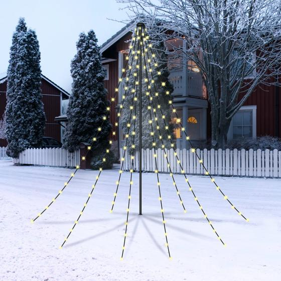 LED-Pyramide Christmas Garden