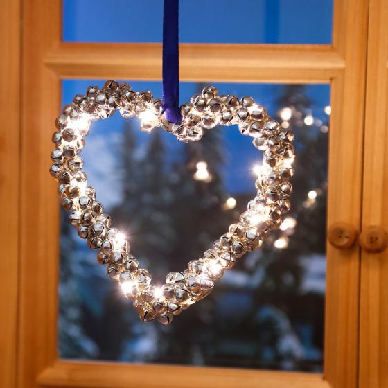 LED-Herz Glöckchenreigen