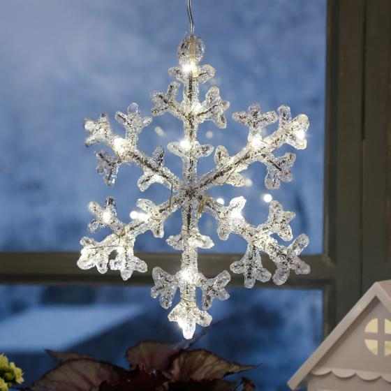 LED-Schneeflocke Crystal Winter