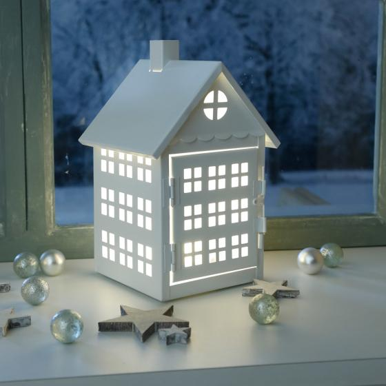 LED-Haus Winter Time, klein