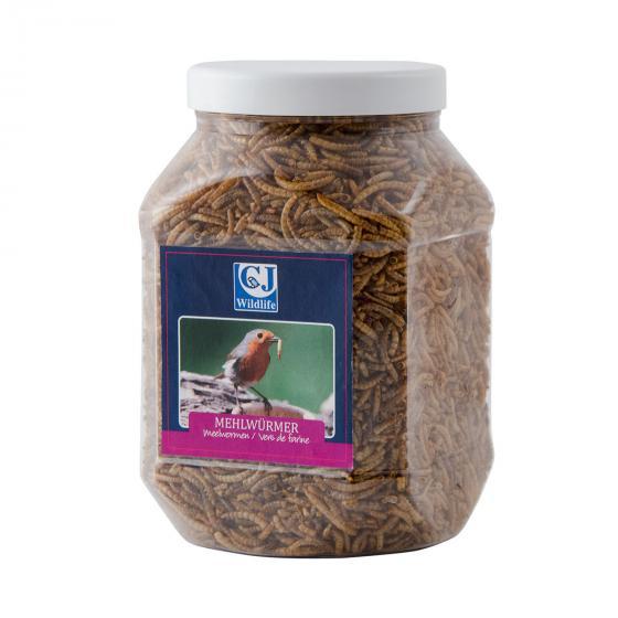 Mehlwürmer, getrocknet, 440 g