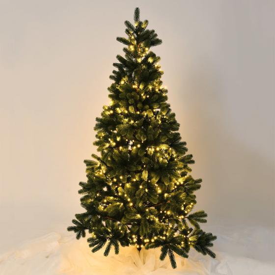 LED-Außenlichterkette für 2,1m hohe Bäume, 700 LEDs