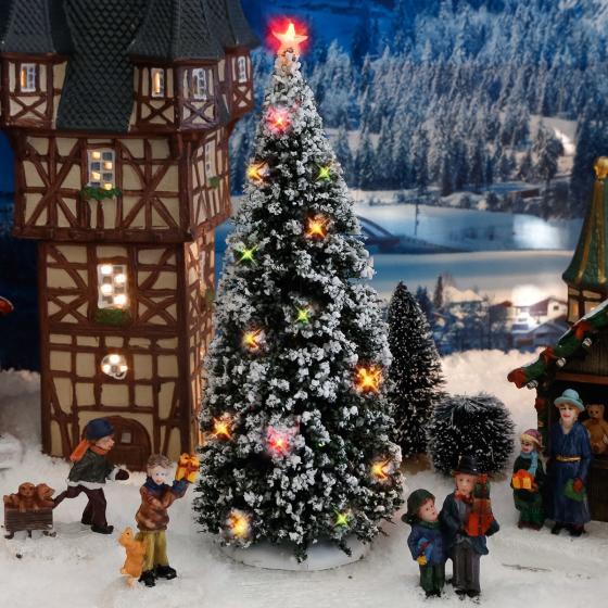 Miniatur-LED-Weihnachtsbaum