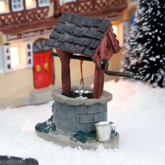 Miniatur-Dorfbrunnen