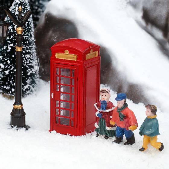 Miniatur-Telefonzelle