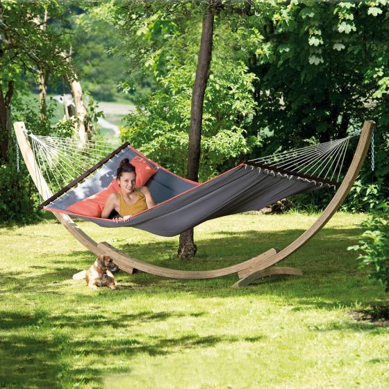 AMAZONAS® Garten-Hängematte American Dream, Set, grau