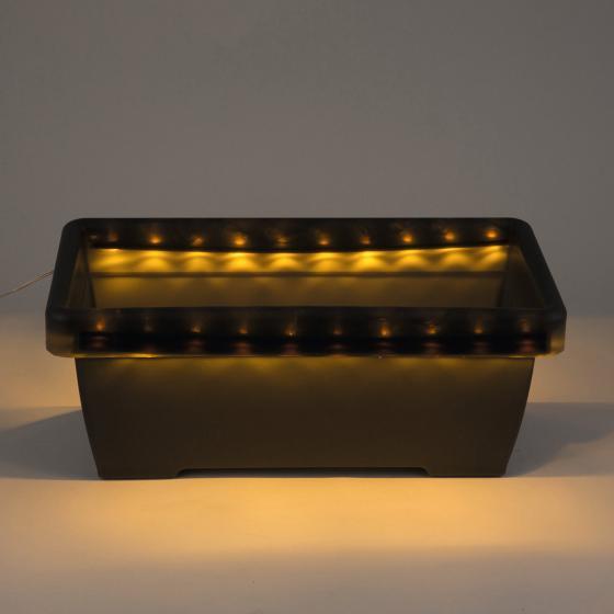 HEITRONIC® Solar LED-Blumenkasten