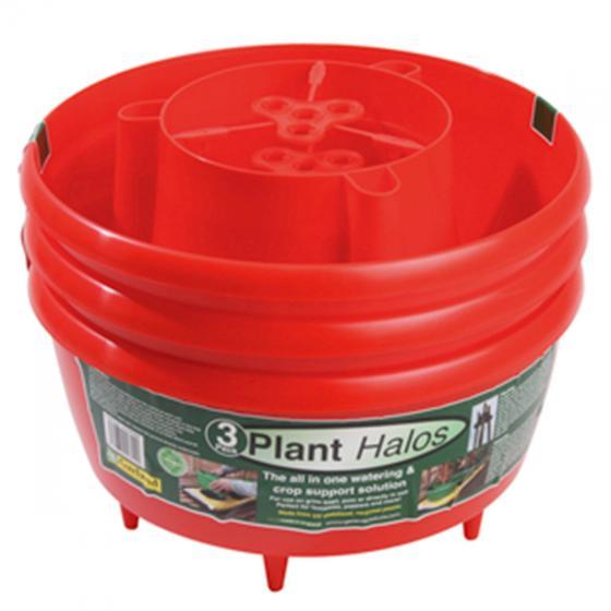 Bewässerungsring, 3er-Set, rot