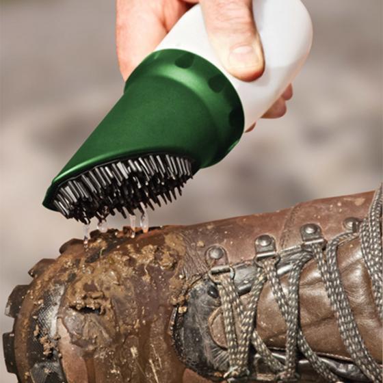 Schuh-Wasserbürste