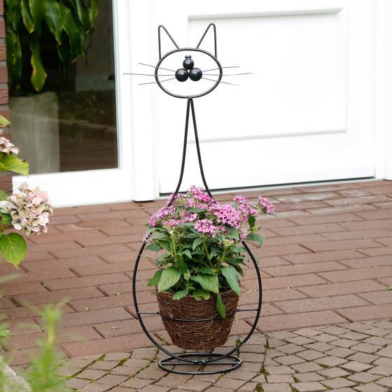 Pflanzkorb Katze Katinka