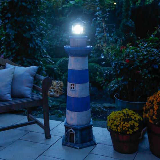 Solar-Leuchtturm Baltrum