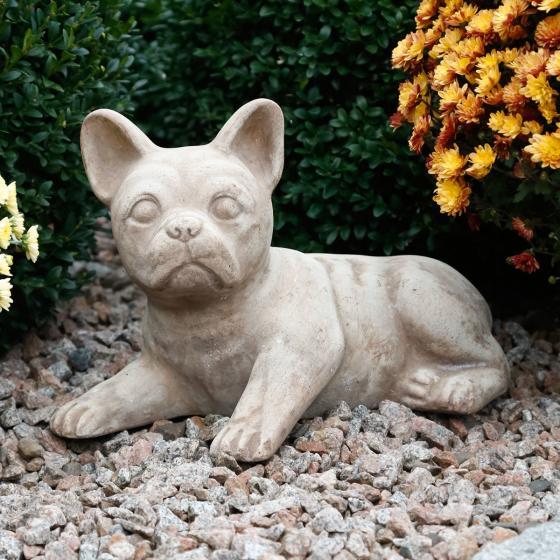 Terracotta-Hund Frankie