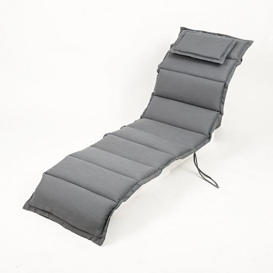 Deckchairauflage, grau